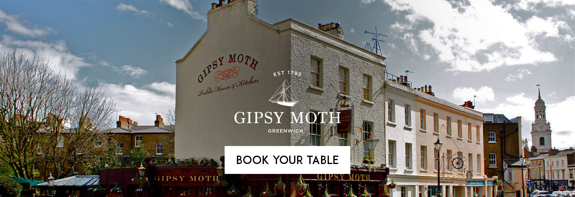 Book Your Table at The Gipsy Moth