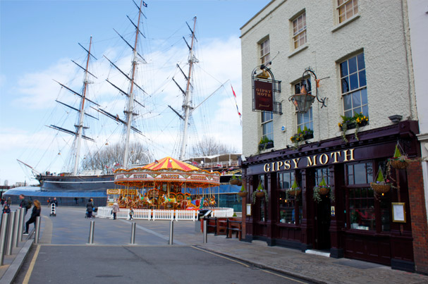 The Gipsy Moth in Greenwich